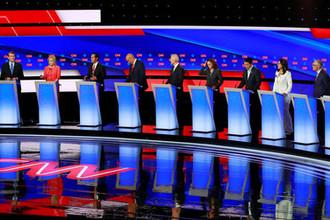 «Смертельная угроза»: как прошли дебаты демократов