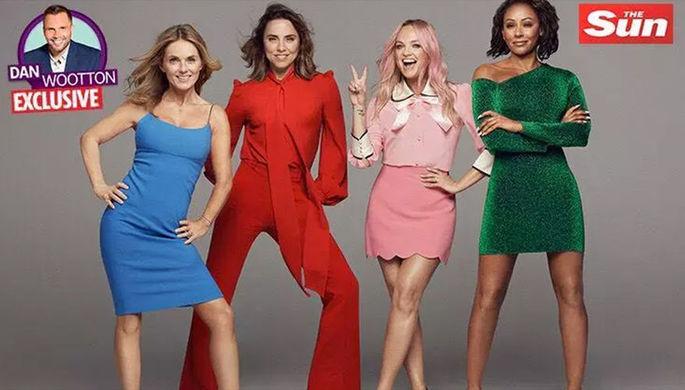 Spice Girls, 2018