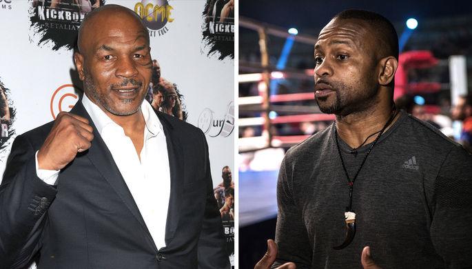 Битва легенд: Майк Тайсон и Рой Джонс возвращаются на ринг