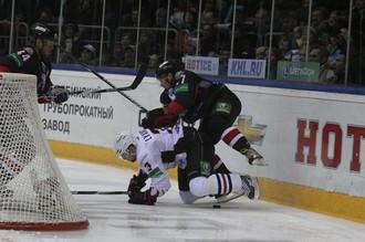 «Авангард» сумел выиграть в Челябинске