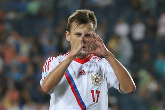 Денис Черышев — автор пока единственного гола сборной России на молодежном чемпионате Европы