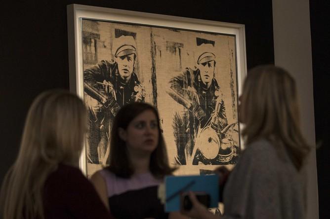 Энди Уорхол, «Четыре Марлона» (1966) — $69,6 млн