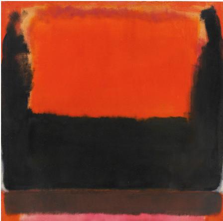 Марк Ротко. «№21 (Красный, коричневый, черный и оранжевый)»