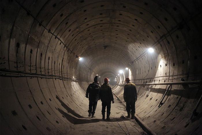 Строительство второго выхода со станции метро «Спортивная» в Санкт-Петербурге