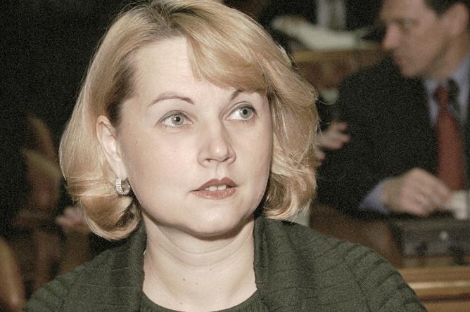 Заместитель министра финансов Российской Федерации Татьяна Голикова, 2000 год