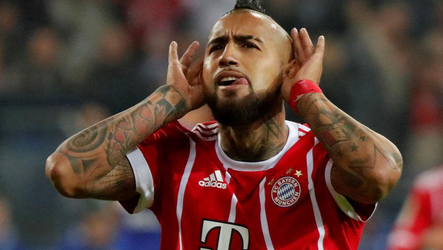 Футболист мюнхенской «Баварии» Артуро Видаль