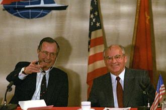 Последнее соглашение Горбачева и Буша: что дал миру саммит на Мальте
