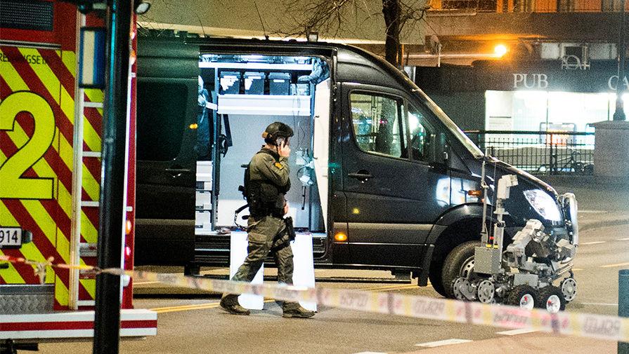 В полицейском участке в Норвегии обнаружили бомбу