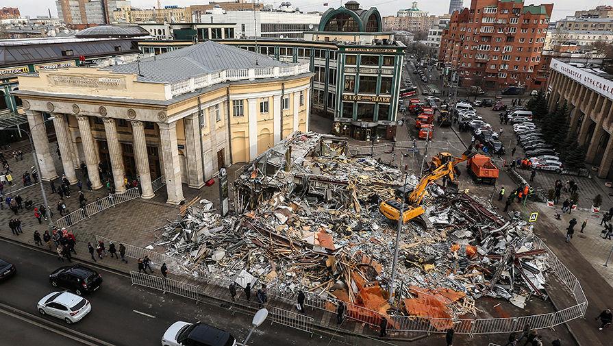 Список рынков под снос в москве