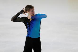 Российский фигурист Александр Самарин