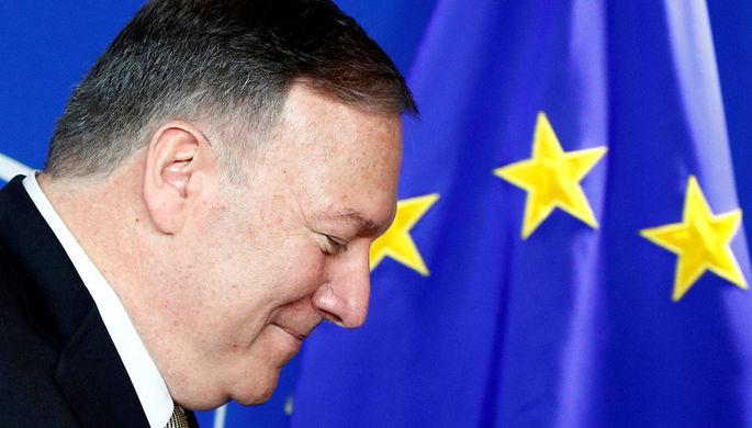 «Угроза России, Китая и Ирана»: Помпео призвал новые власти ЕС к союзу