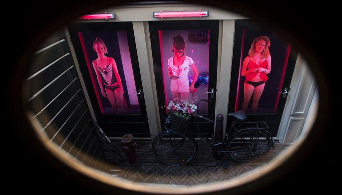 Имидж- все: Амстердам закроет «квартал красных фонарей»
