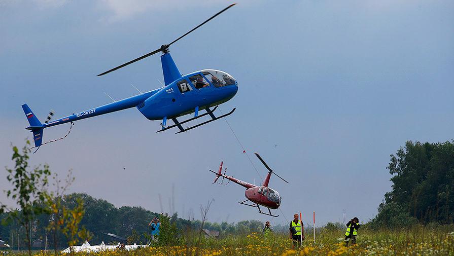 Вертолет упал в Архангельской области