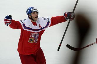2015 год. Чемпионат мира по хоккею в Праге. Яромир Ягр после заброшенной победной шайбы в матче Чехия – Финляндия