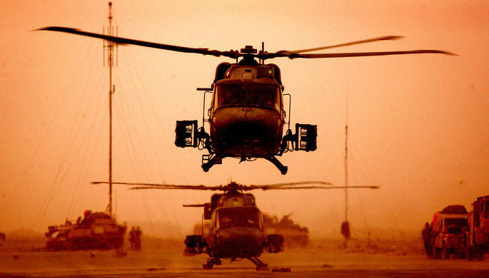 Ирак, март 2003 года