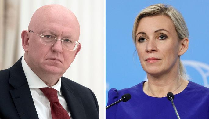 За вклад в дипломатию: Путин наградил Захарову и Небензю