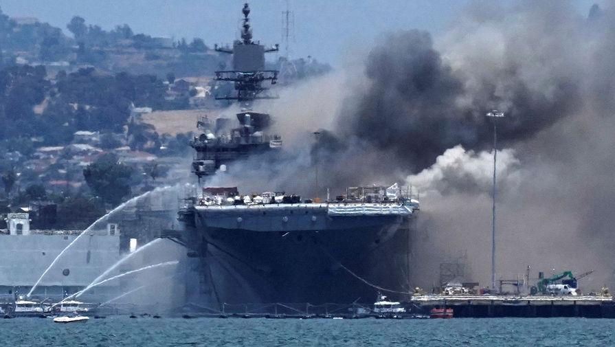Пожары на кораблях: НАТО утрачивает контроль над ВС