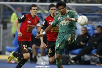 Активность Брандао позволила «Сент-Этьену» завоевать Кубок Лиги
