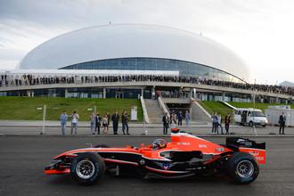 Скоро в Сочи услышат рев болидов «Формулы — 1»