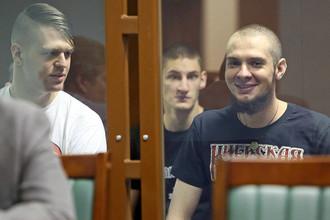 Оглашение приговора участникам националистической группировки «Невоград» в Санкт-Петербурге