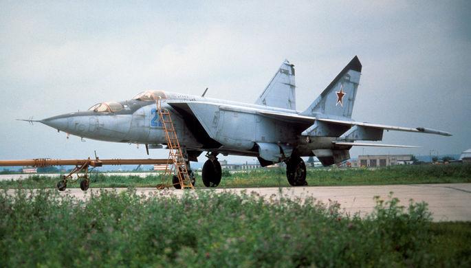 Советский истребитель МиГ-25