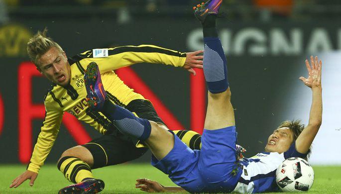 Дортмундская «Боруссия» сыграла вничью с берлинской «Гертой»