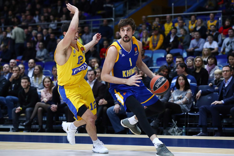 b7365604 Химки» победили «Маккаби» в матче баскетбольной Евролиги - Газета.Ru