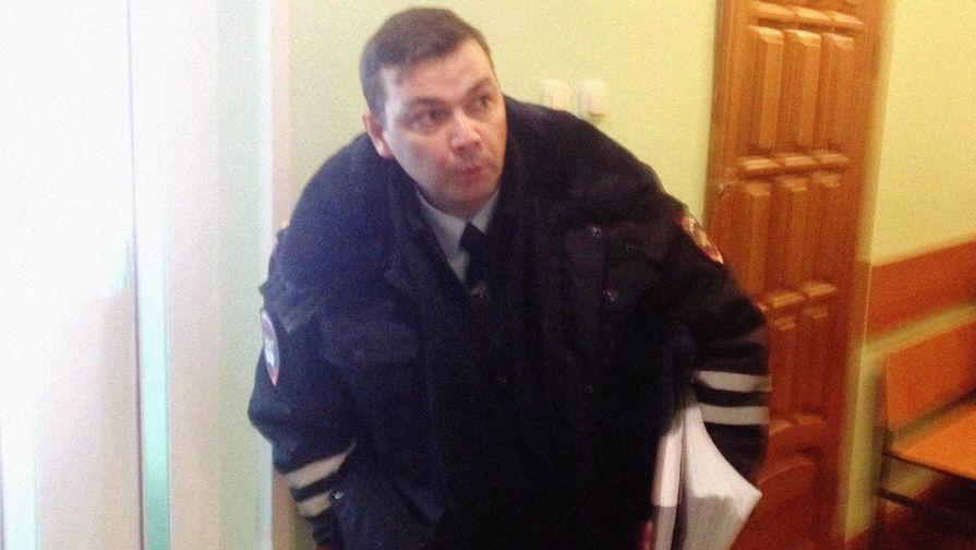 Подполковник Александр Юнусов, архивный снимок