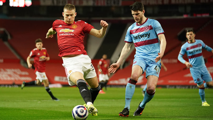 Эпизод матча «Манчестер Юнайтед»- «Вест Хэм Юнайтед»