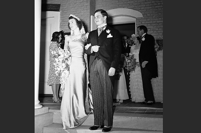 Свадьба Дэвида Рокфеллера, 1940 год