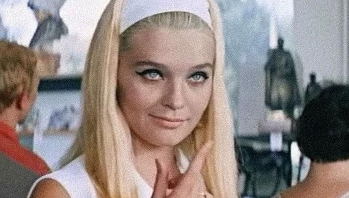 Актриса Светлана Светличная в фильме «Бриллиантовая рука» (1968)