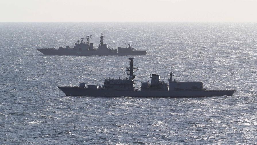 Опасный Ла-Манш: как следили за кораблем ВМС России