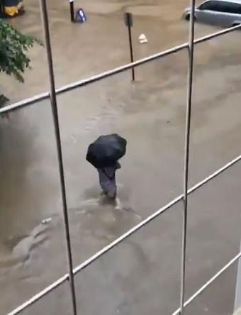 Последствия сильного дождя в Вашингтоне, 8 июля 2019 года
