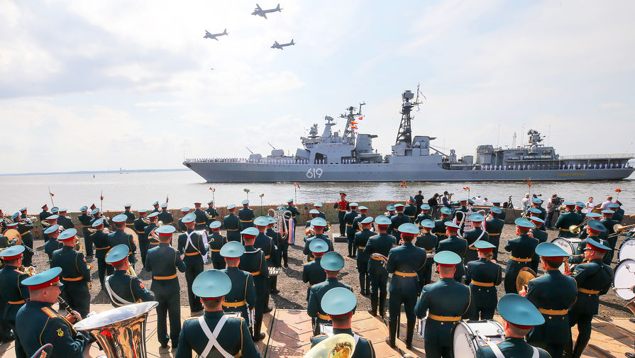 Парад на весь мир: как отметят День ВМФ в России