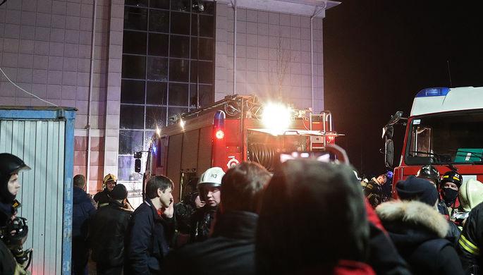 Перегрелся кабель: пожар в доме престарелых в Москве