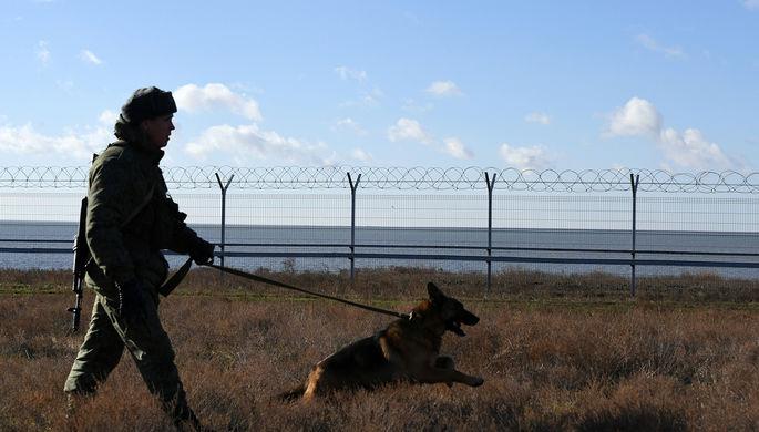 Пьяный военный: украинца задержали в Крыму за нарушение границы
