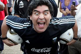 Иногда Диего Марадона был не похож на самого себя
