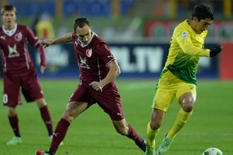 Руслан Мухаметшин открыл счет своим голам за основной состав «Рубина». А заодно стал первым татарином за много лет, сумевшим отличиться за главный клуб республики.