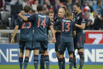 «Бавария» забила пльзеньской «Виктории» пять безответных мячей