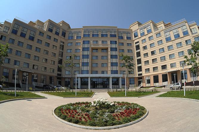 Кампус Дальневосточного федерального университета