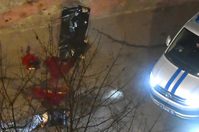 На месте убийства руководителя Центра противодействия экстремизму МВД Ингушетии Ибрагима Эльджаркиева