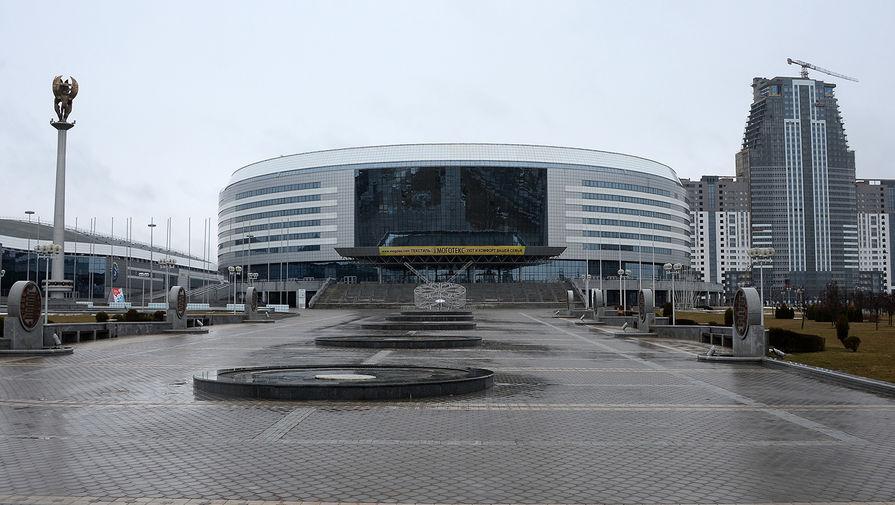 Многофункциональный культурно-спортивный комплекс «Минск-арена» на проспекте Победителей в Минске.