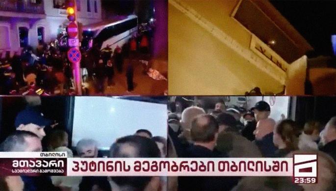 «Вопрос самоуважения»: Познеру в Тбилиси испортили день рождения