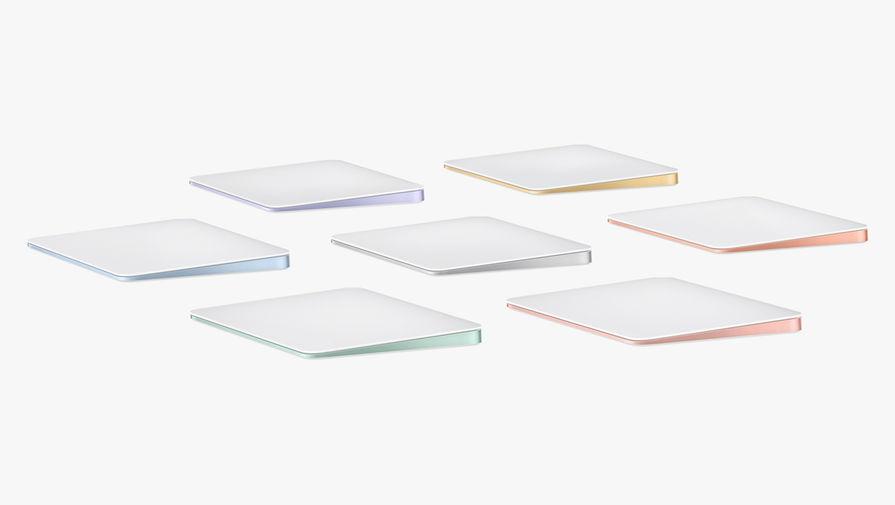 Новые цвета для Magic Trackpad во время весенней презентации Apple, 20 апреля 2021 года