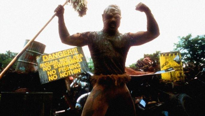 Кадр из фильма «Токсичный мститель» (1984)