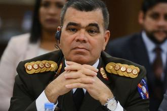 Министр обороны Венесуэлы Владимир Падрино Лопес на заседании Межправительственной российско-венесуэльской комиссии высокого уровня, 2017 год