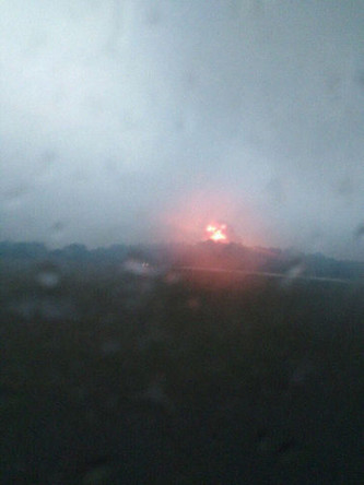Последствия новых взрывов на военном арсенале под Ачинском в Красноярском крае, 9 июля 2019 года