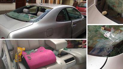 Семья из России, чей автомобиль в Польше забросали камнями, вернулась домой