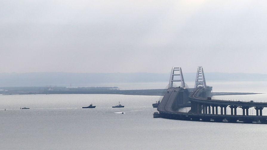 Буксировка задержанных в Керченском проливе украинских кораблей, 17 ноября 2019 года