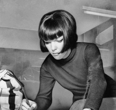 Мэри Куант за работой, 1963 год